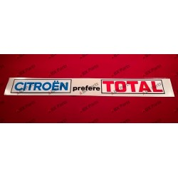 "WINDOW STICKER ""CITROËN..."