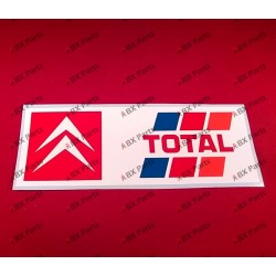 "STICKER ""CITROËN TOTAL""..."