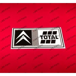 "STICKER ""CITROËN TOTAL"" 2000s"