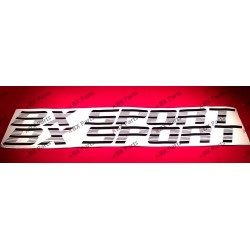 "2X STICKER ""BX SPORT"""