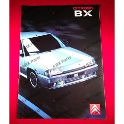 VENTE BROCHURE BX 09/1990...