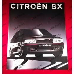 VENTE BROCHURE BX 1989...