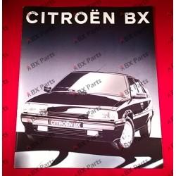 VENTE BROCHURE BX 1991...