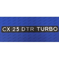 """CX 25 DTR TURBO""..."