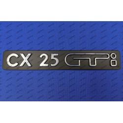 """""""CX 25 GTi"""" MONOGRAMME..."""