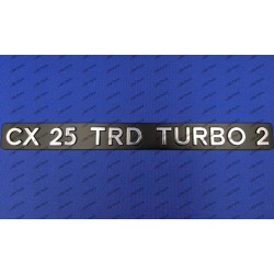 """CX 25 TRD TURBO 2""..."