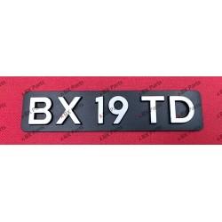 """BX 19 TD"" REAR NAME-PLATE..."