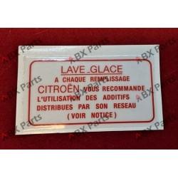 """AUTOCOLLANT """"LAVE GLACE"""""""