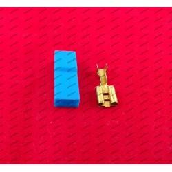 6.3MM Stekker - blauw