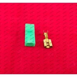 6.3MM Stekker - groen