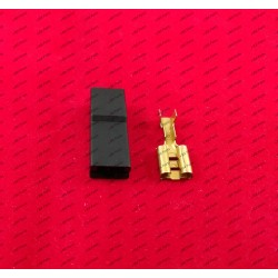 6.3MM plug - black